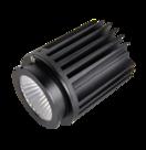 Fixed-12W-LED-Downlight-5000K-40deg-AC220-240V-Dimmable-Black