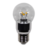 LED Bulb 4W (Epistar) WarmWhite 2300K E27 230V AC Clear_