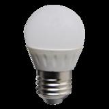 LED Bulb 3W (Epistar) NaturalWhite 4000K E27 230V AC_