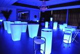 Conic Statafel met LED RGB verlichting vierkant_