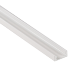 Aluminium Profiel wit (Powder coated) Opbouw 7mm 2M_