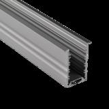 Aluminium Powerline Profiel verzonken 30 Micron  2M_