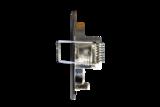RVS Inbouwring Rond Vast t.b.v. LED Spot_