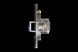 RVS Inbouwring Vierkant Vast t.b.v. LED Spot_