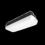 Emergency/Bulkhead 6W Sila Black 3000K Dim Sensor/EPS (42V)_