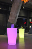 Statafel met LED RGB verlichting Rond_