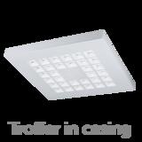 Troffer panel 35W 3000K 4000K (optional 5000K) 120lm/W 595 x 595mm_