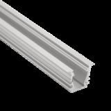 Aluminium Profiel inbouw 23,4mm x 19 2M_