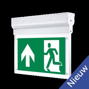 EM-LUX LED Exit sign 3.6V 900mah