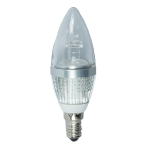 LED Candle 3W (Osram) WarmWhite 3000K E14 230V AC
