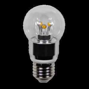 LED Bulb 4W (Epistar) WarmWhite 2300K E27 230V AC Clear
