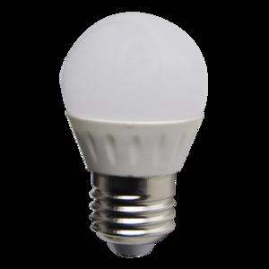 LED Bulb 3W (Epistar) WarmWhite 3000K E27 230V AC