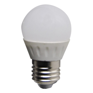 LED Bulb 3W (Epistar) NaturalWhite 4000K E27 230V AC