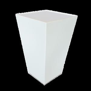 Conic Statafel met LED RGB verlichting vierkant