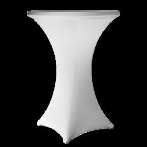 Statafel met LED RGB verlichting met rok