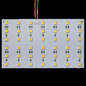 LED SMD RGB plaat 9 x 15cm