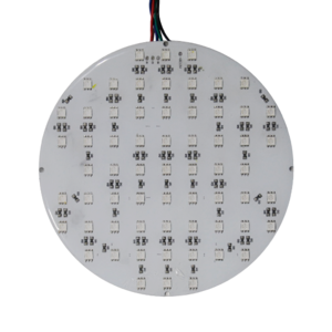 LED SMD Rond RGB plaat 16cm