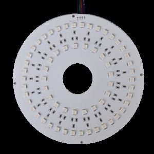 LED SMD Rond RGB plaat 17cm met gat