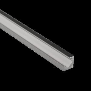 Aluminium 45 graden Profiel 15 Micron 2M