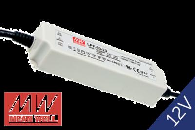 MeanWell LPF-60-12 IP67 PFC 12V 60W
