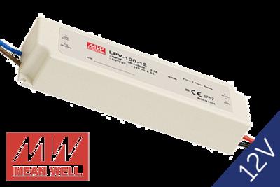 MeanWell LPV-100-12 IP67 12V 100W