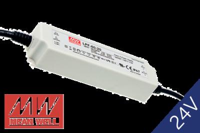 MeanWell LPF-60-24 IP67 PFC 24V 60W