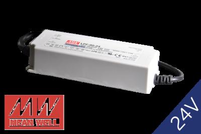 MeanWell LPF-90-24 IP67 PFC 24V 90W