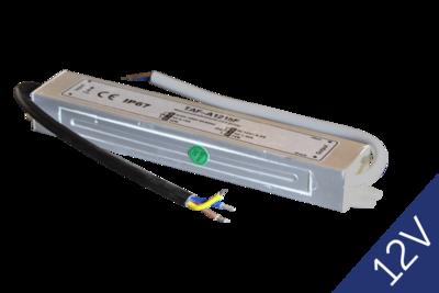 Transformator 12V 15W IP67