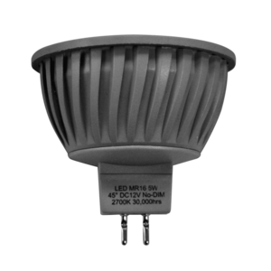 LED Spot 5W (Samsung) WarmWhite 2700K MR16 DC12V