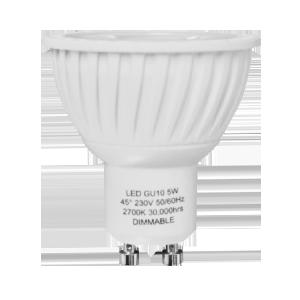 LED Spot 5W (Samsung) WarmWhite 2700K GU10 230V AC