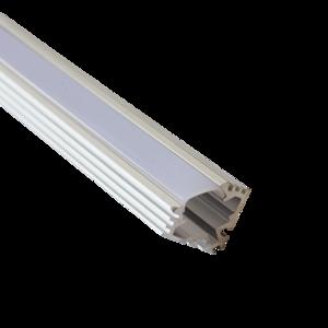 Aluminium Profiel Opbouw 45º 8 Micron 2M