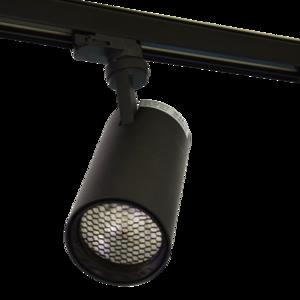 LED Tracklight Slate 20W 3000K & 4000K Black