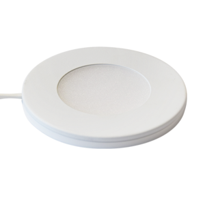 Ultra thin Puck Light White or Nickle