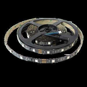 Digitaal RGB 5m 12V Black PCB
