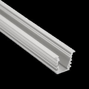 Aluminium Profiel inbouw 23,4mm x 19 2M