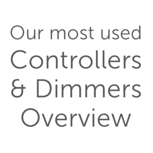 Our most used Controllers & Dimmers