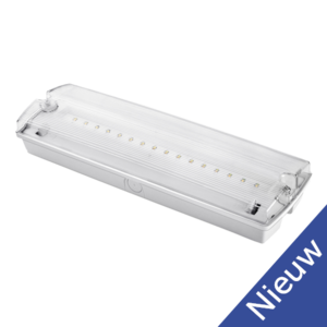 LED Exit sign Alva 3,6V 1200mah