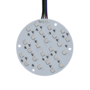LED-SMD-Rond-RGB-plaat-9cm-24-Chips