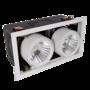 Quadra-Recessed-spotlight-2-x-24W-3000K-1800Lm